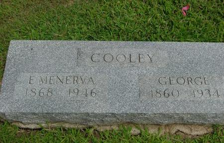 COOLEY, GEORGE & MENERVA - Ida County, Iowa | GEORGE & MENERVA COOLEY