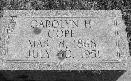COPE, CAROLYN - Ida County, Iowa | CAROLYN COPE