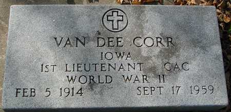 CORR, VAN DEE - Ida County, Iowa | VAN DEE CORR
