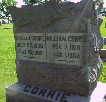 CORRIE, WILLIAM & ISABELLA - Ida County, Iowa | WILLIAM & ISABELLA CORRIE