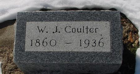 COULTER, W. J. - Ida County, Iowa | W. J. COULTER