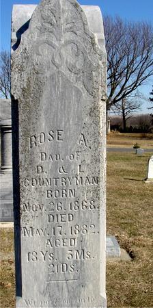 COUNTRYMAN, ROSE A. - Ida County, Iowa | ROSE A. COUNTRYMAN