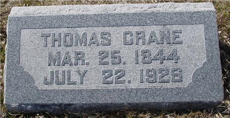 CRANE, THOMAS - Ida County, Iowa | THOMAS CRANE