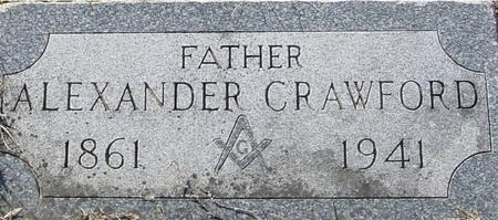 CRAWFORD, ALEXANDER - Ida County, Iowa | ALEXANDER CRAWFORD