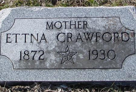 CRAWFORD, ETTNA - Ida County, Iowa | ETTNA CRAWFORD