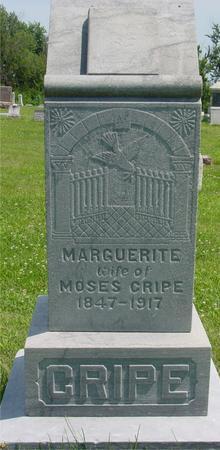 CRIPE, MARGUERITE - Ida County, Iowa | MARGUERITE CRIPE