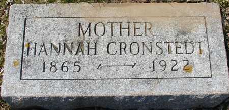 CRONSTEDT, HANNAH - Ida County, Iowa | HANNAH CRONSTEDT