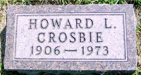 CROSBIE, HOWAD L. - Ida County, Iowa | HOWAD L. CROSBIE