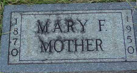 CUBBAGE, MARY F. - Ida County, Iowa | MARY F. CUBBAGE
