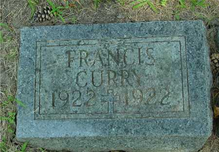 CURRY, FRANCIS - Ida County, Iowa | FRANCIS CURRY