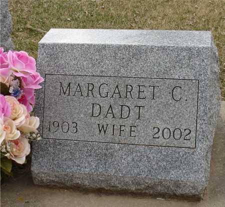 DADT, MARGARET C. - Ida County, Iowa | MARGARET C. DADT