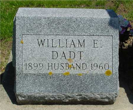 DADT, WILLIAM E. - Ida County, Iowa | WILLIAM E. DADT