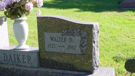DAIKER, WALTER D. - Ida County, Iowa | WALTER D. DAIKER