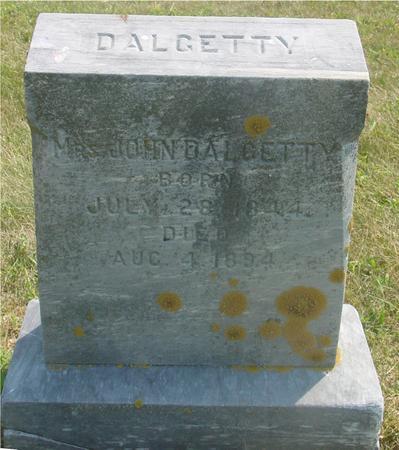 DALGETTY, MRS. JOHN - Ida County, Iowa | MRS. JOHN DALGETTY