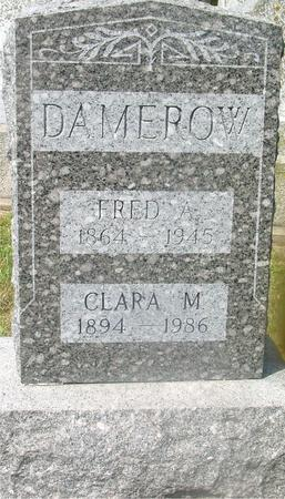 DAMEROW, FRED A. & CLARA - Ida County, Iowa | FRED A. & CLARA DAMEROW