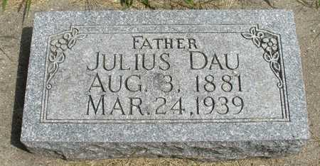 DAU, JULIUS - Ida County, Iowa | JULIUS DAU