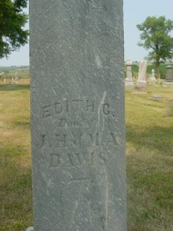 DAVIS, EDITH C. - Ida County, Iowa | EDITH C. DAVIS