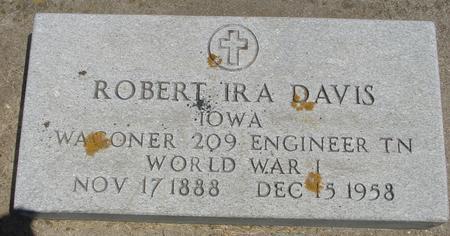 DAVIS, ROBERT IRA - Ida County, Iowa   ROBERT IRA DAVIS