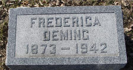 DEMING, FREDERICA - Ida County, Iowa | FREDERICA DEMING