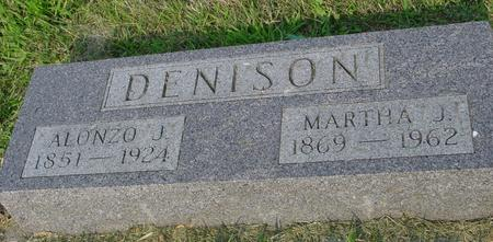 DENISON, ALONZO - Ida County, Iowa | ALONZO DENISON