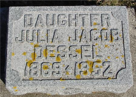 DESSEL, JULIA - Ida County, Iowa | JULIA DESSEL
