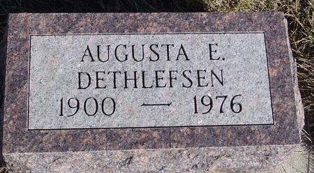 DETHLEFSEN, AUGUSTA E. - Ida County, Iowa | AUGUSTA E. DETHLEFSEN