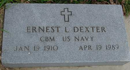 DEXTER, ERNEST L. - Ida County, Iowa | ERNEST L. DEXTER