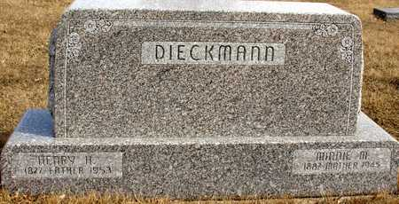 DIECKMANN, HENRY & MINNIE - Ida County, Iowa | HENRY & MINNIE DIECKMANN