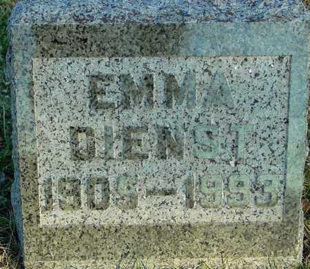 DIENST, EMMA - Ida County, Iowa | EMMA DIENST