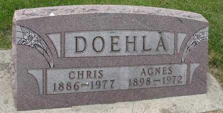DOEHLA, CHRIS & AGNES - Ida County, Iowa   CHRIS & AGNES DOEHLA