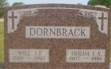 DORNBRACK, WILL, FRIEDA - Ida County, Iowa | WILL, FRIEDA DORNBRACK