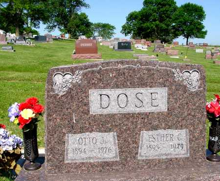 DOSE, OTTO J. & ESTHER C. - Ida County, Iowa | OTTO J. & ESTHER C. DOSE