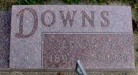 DOWNS, EDGAR D. - Ida County, Iowa | EDGAR D. DOWNS