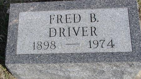 DRIVER, FRED B. - Ida County, Iowa | FRED B. DRIVER