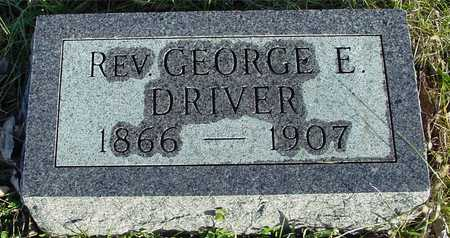 DRIVER, REV. GEORGE E. - Ida County, Iowa | REV. GEORGE E. DRIVER
