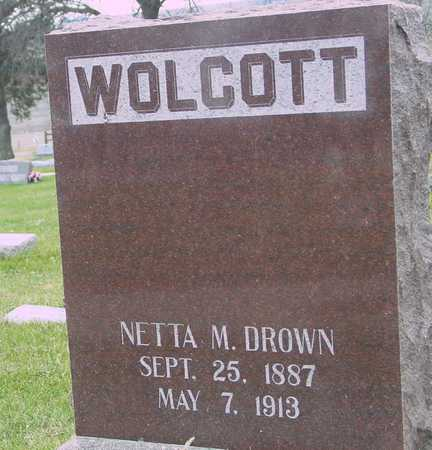 DROWN, NETTA M. - Ida County, Iowa | NETTA M. DROWN