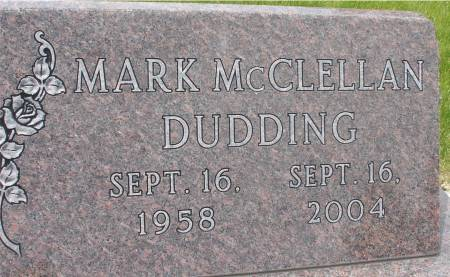 DUDDING, MARK MCCLELLAN - Ida County, Iowa | MARK MCCLELLAN DUDDING