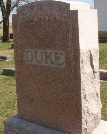 DUKE, FAMILY MARKER - Ida County, Iowa | FAMILY MARKER DUKE