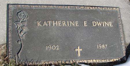 DWINE, KATHERINE E. - Ida County, Iowa | KATHERINE E. DWINE