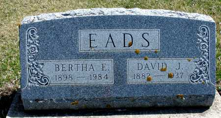 EADS,  DAVID & BERTHA - Ida County, Iowa |  DAVID & BERTHA EADS