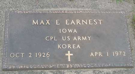 EARNEST, MAX E. - Ida County, Iowa | MAX E. EARNEST