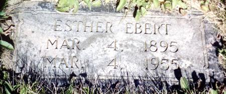 EBERT, ESTHER - Ida County, Iowa | ESTHER EBERT