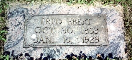 EBERT, FRED - Ida County, Iowa | FRED EBERT