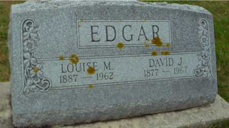 EDGAR, DAVID  &  LOUISE - Ida County, Iowa | DAVID  &  LOUISE EDGAR