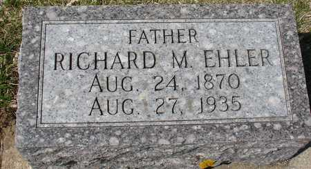 EHLER, RICHARD M. - Ida County, Iowa | RICHARD M. EHLER