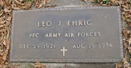 EHRIG, LEO J. - Ida County, Iowa | LEO J. EHRIG