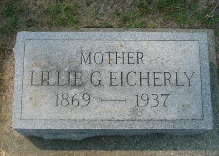EICHERLY, LILLIE G. - Ida County, Iowa | LILLIE G. EICHERLY