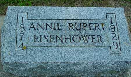 RUPERT EISENHOWER, ANNIE - Ida County, Iowa | ANNIE RUPERT EISENHOWER