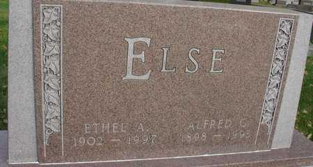 ELSE, ALFRED & ETHEL - Ida County, Iowa | ALFRED & ETHEL ELSE