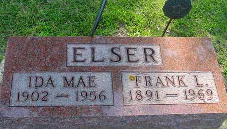 ELSER, FRANK L. & IDA MAE - Ida County, Iowa | FRANK L. & IDA MAE ELSER